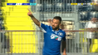 GOLO! Empoli, F. Di Francesco aos 30', Empoli 1-2 Atalanta