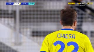 GOLO! Juventus, F. Chiesa aos 66', Spezia 2-2 Juventus