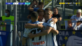 GOLO! Atalanta, J. Iličić aos 11', Empoli 0-1 Atalanta