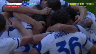 GOLO! Internazionale, F. Dimarco aos 18', Sampdoria 0-1 Internazionale