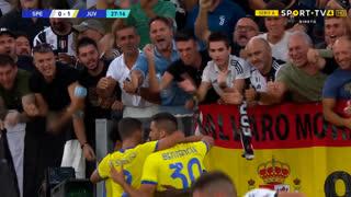 GOLO! Juventus, M. Kean aos 28', Spezia 0-1 Juventus
