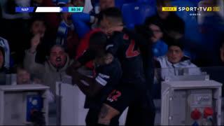 GOLO! Napoli, V. Osimhen aos 81', Napoli 1-0 Torino