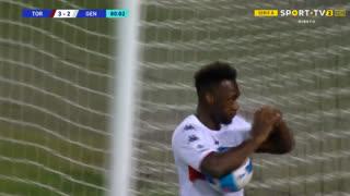 GOLO! Genoa, F. Caicedo aos 81', Torino 3-2 Genoa