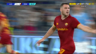 GOLO! Roma, J. Veretout aos 69', Lazio 3-2 Roma