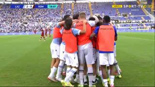 GOLO! Lazio, Pedro aos 19', Lazio 2-0 Roma