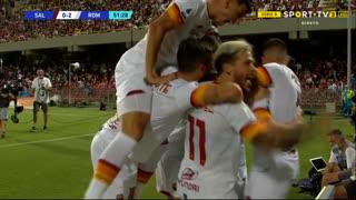 GOLO! Roma, J. Veretout aos 52', Salernitana 0-2 Roma