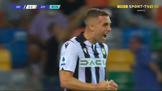 GOLO! Udinese, Gerard Deulofeu aos 83', Udinese 2-2 Juventus