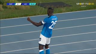 GOLO! Napoli, K. Koulibaly aos 85', Napoli 2-1 Juventus