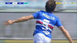 GOLO! Sampdoria, T. Augello aos 47', Sampdoria 2-2 Internazionale