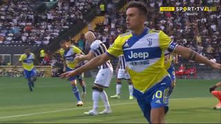 GOLO! Juventus, P. Dybala aos 3', Udinese 0-1 Juventus
