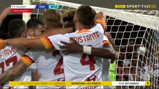GOLO! Roma, T. Abraham aos 69', Salernitana 0-3 Roma