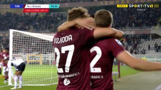 GOLO! Torino, J. Brekalo aos 77', Torino 3-1 Genoa
