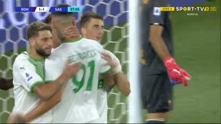 GOLO! Sassuolo, Djuricic aos 57', Roma 1-1 Sassuolo