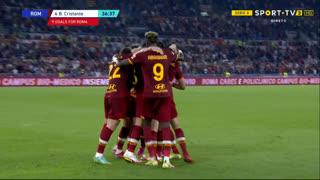 GOLO! Roma, Cristante aos 37', Roma 1-0 Sassuolo