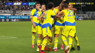 GOLO! Juventus, M. de Ligt aos 72', Spezia 2-3 Juventus