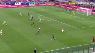 GOLO! Internazionale, Lautaro Martínez aos 5', Internazionale 1-0 Atalanta