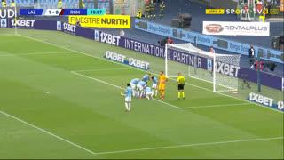 GOLO! Lazio, S. Milinković-Savić aos 10', Lazio 1-0 Roma
