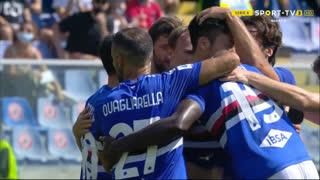 GOLO! Sampdoria, M. Yoshida aos 33', Sampdoria 1-1 Internazionale