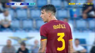 GOLO! Roma, Ibañez aos 41', Lazio 2-1 Roma