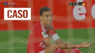 SL Benfica, Caso, Gaitán aos 60'