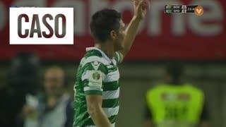 Sporting CP, Caso, T. Gutiérrez aos 24'