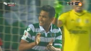Sporting CP, Jogada, T. Gutiérrez aos 48'