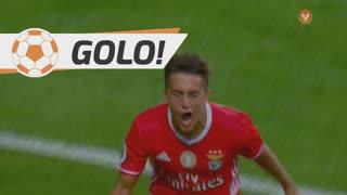 GOLO! SL Benfica, F. Cervi aos 10', SL Benfica 1-0 SC Braga