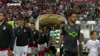 Supertaça (Final): Resumo SL Benfica 5-0 Sporting CP