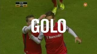 GOLO! SC Braga, Sasso aos 54', SC Braga 1-0 A. Académica