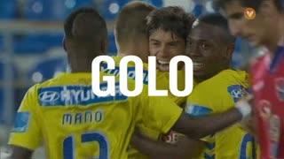 GOLO! Estoril Praia, M. Cabrera aos 44', Estoril Praia 2-0 Gil Vicente FC