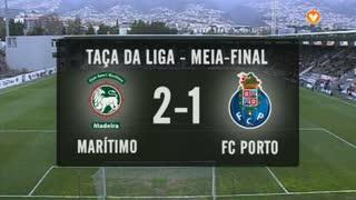 Taça da Liga (Meias-Finais): Resumo Marítimo M. 2-1 FC Porto