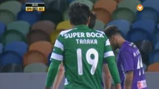 Sporting CP, Jogada, Tanaka aos 18'