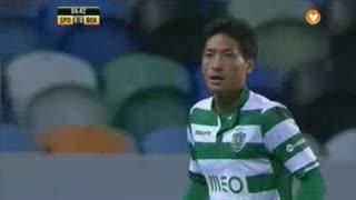 Sporting CP, Jogada, Tanaka aos 5'