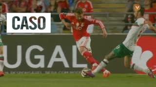 SL Benfica, Caso, Sulejmani aos 58'