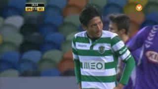 Sporting CP, Jogada, Tanaka aos 14'
