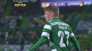 Sporting CP, Jogada, R. Gauld aos 43'