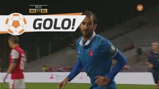 GOLO! Os Belenenses, Tiago Caeiro aos 89', SC Braga 2-1 Os Belenenses