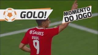 GOLO! SL Benfica, R. Jiménez aos 70', SL Benfica 2-1 SC Braga