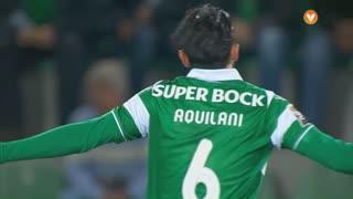 Sporting CP, Jogada, A. Aquilani aos 3'