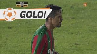 GOLO! Marítimo M., Dirceu aos 80', CD Feirense 2-4 Marítimo M.