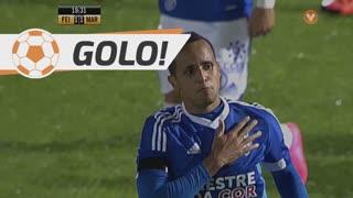 GOLO! CD Feirense, Icaro aos 20', CD Feirense 1-1 Marítimo M.