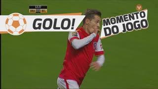 GOLO! SC Braga, Pedro Santos aos 13', SC Braga 1-0 Belenenses