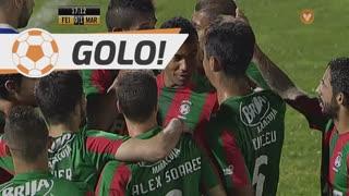 GOLO! Marítimo M., Fransérgio aos 17', CD Feirense 0-1 Marítimo M.