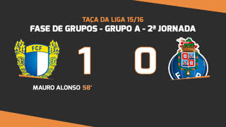 Taça da Liga (Fase 3 - Jornada 2): Resumo FC Famalicão 1-0 FC Porto
