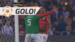 GOLO! Marítimo M., Fransérgio aos 48', FC Porto 0-1 Marítimo M.