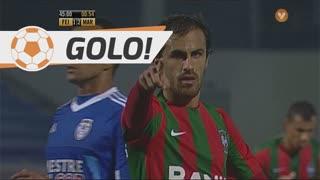 GOLO! Marítimo M., Tiago Rodrigues aos 45'+1', CD Feirense 1-3 Marítimo M.