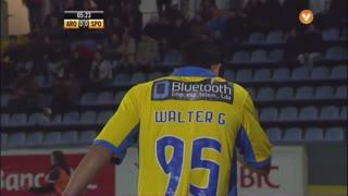 FC Arouca, Jogada, Walter González aos 6'