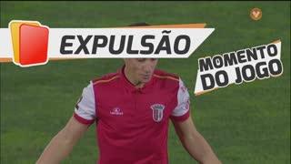 SC Braga, Expulsão, Mauro aos 62'