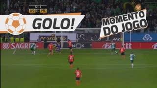 GOLO! Sporting CP, B. Ruiz aos 72', Sporting CP 3-1 FC P.Ferreira