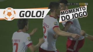 GOLO! SC Braga, E. Velázquez aos 90'+4', Marítimo M. 0-1 SC Braga